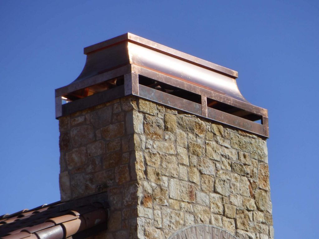 Custom Chimney Metal Fabrication Dunn Seamless Gutters & metal roofs