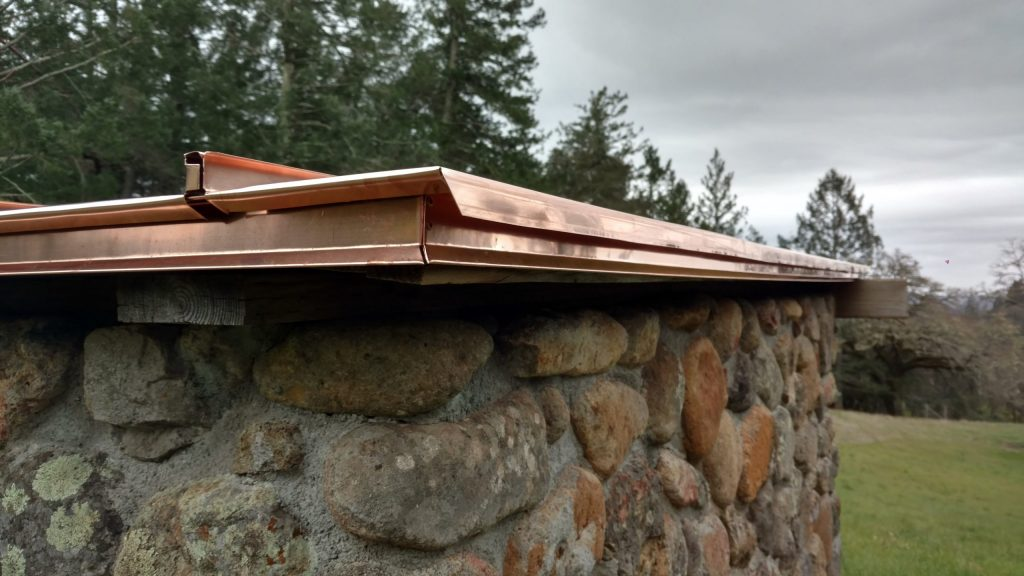 custom copper fabrication dunn seamless gutters