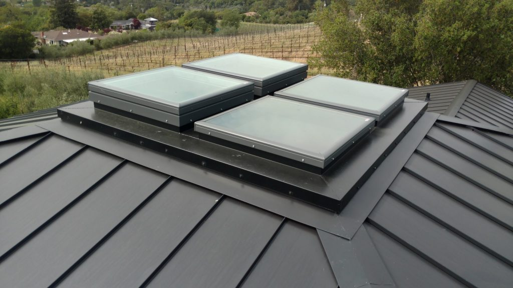 Metal Roofs dunn seamless gutters sonoma county