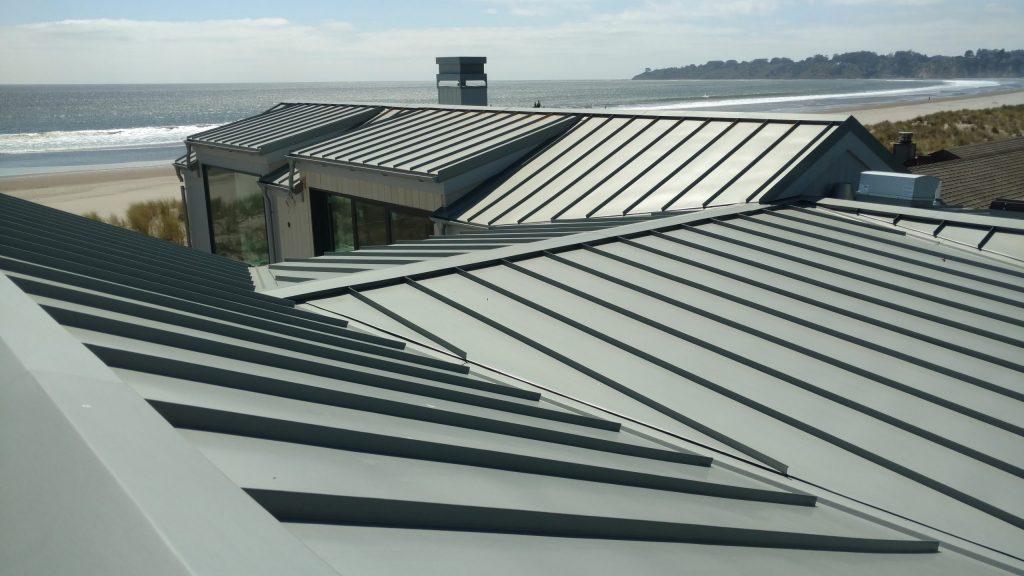 residential Metal Roof dunn seamless gutters