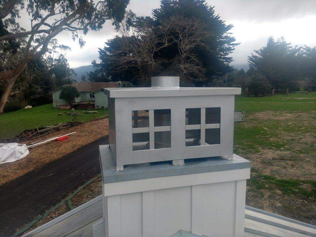custom metal chimney top manufacturer dunn seamless gutters