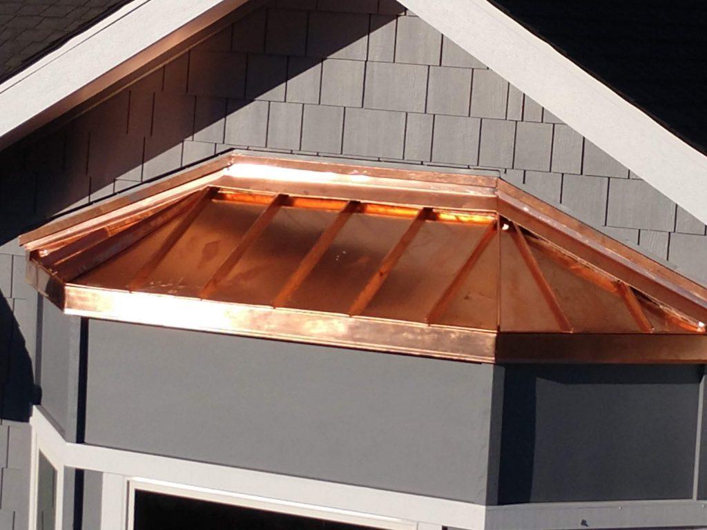 best residential copper Roof dunn seamless gutters