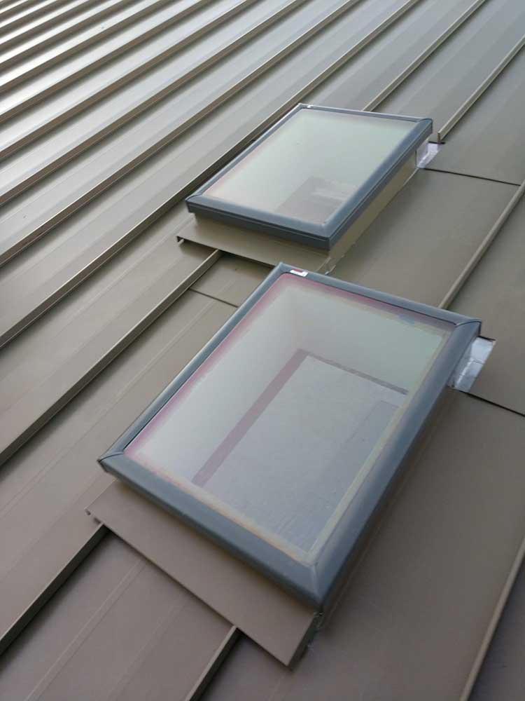 dunn seamless gutters metal roofs 1