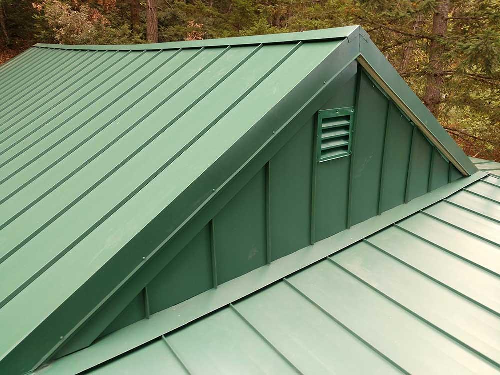dunn seamless gutters metal roofs 12