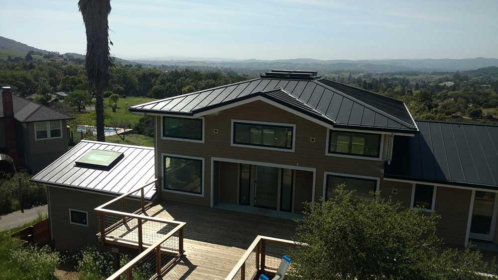 dunn seamless gutters metal roofs 20