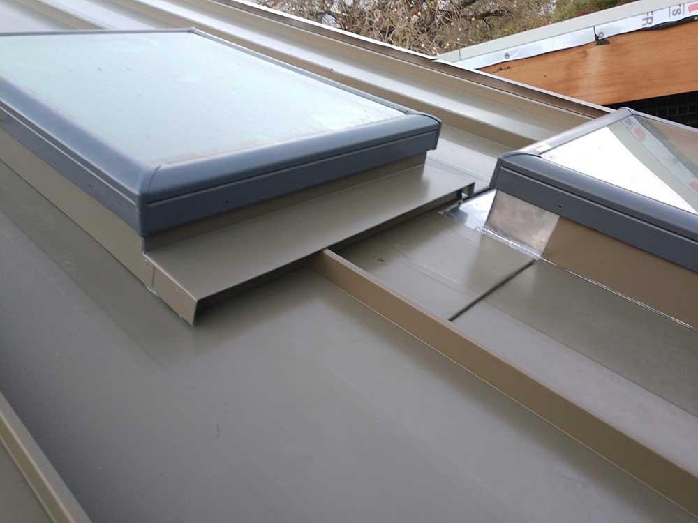 dunn seamless gutters metal roofs 3