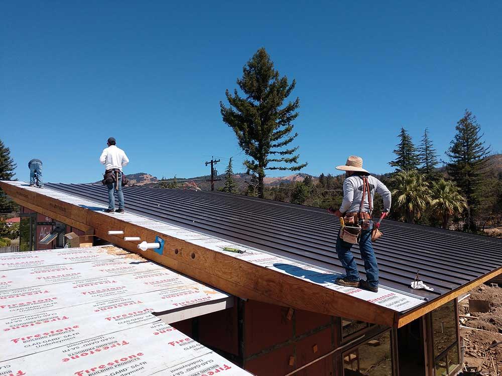 dunn seamless gutters metal roofs 4