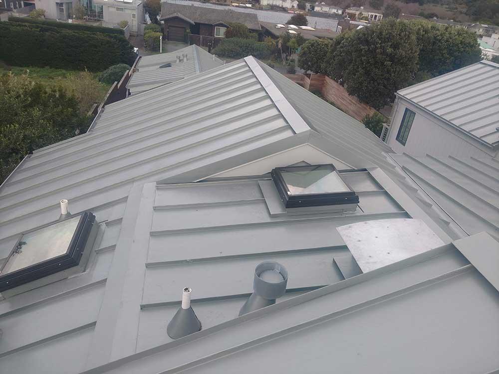 dunn seamless gutters metal roofs 9