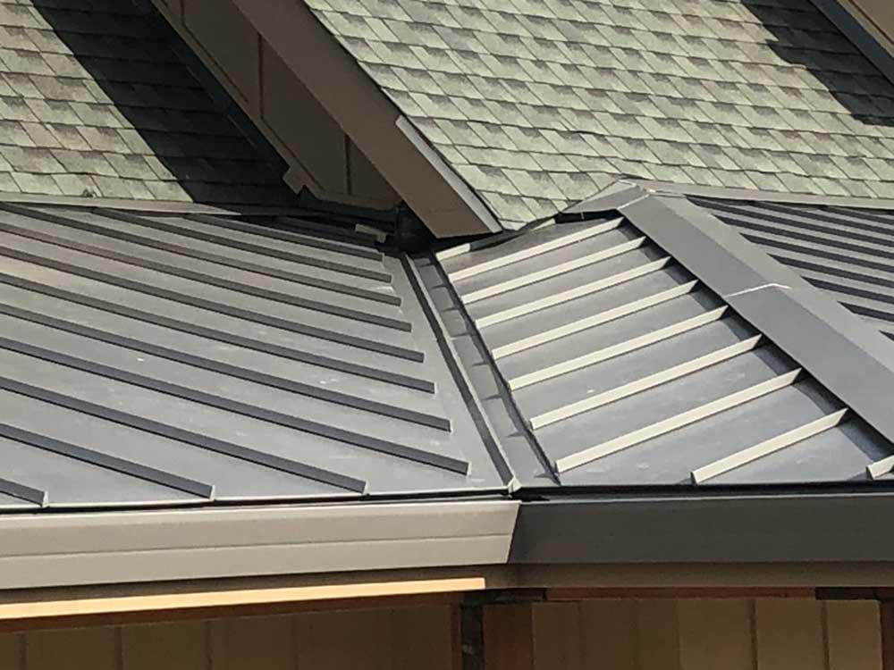 dunn seamless gutters metal roofs